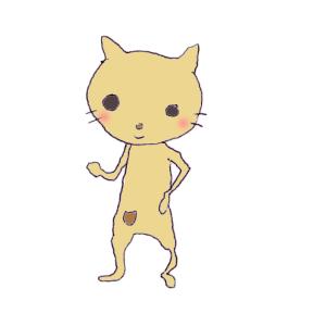 猫のボールペンイラスト02