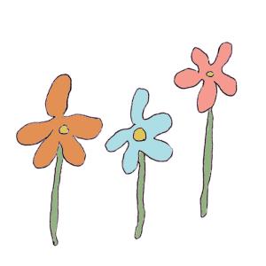 花のボールペンイラスト02