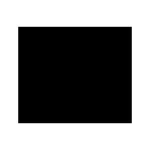 ハートの白黒イラスト