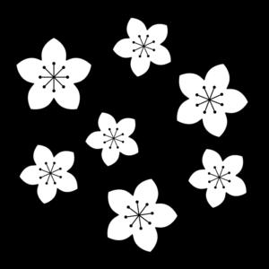 イラスト 花 桃 の