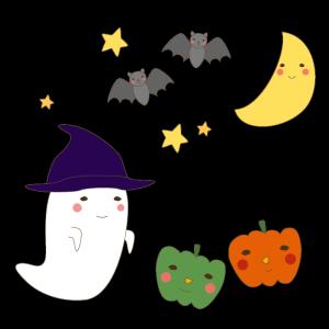 ハロウィンのかわいいイラスト02