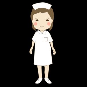 看護師・ナースのかわいいイラスト