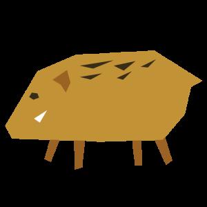 猪のデザインイラスト