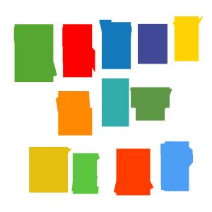 HAPPY NEW YEARのデザイン文字イラスト