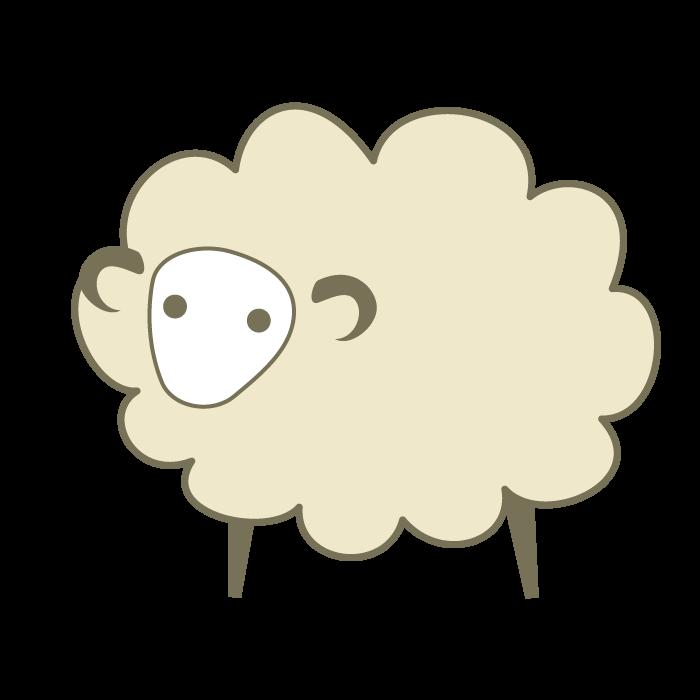 羊のデザインイラスト <無料 ... : 羊年 年賀状 : 年賀状