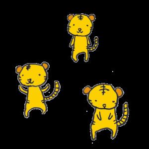 虎の手書きイラスト