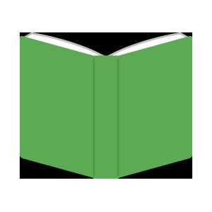 本のシンプルイラスト