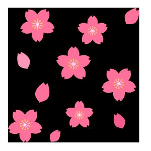 お花見 のイラスト無料 イラストk
