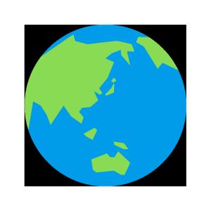 地球のシンプルイラスト