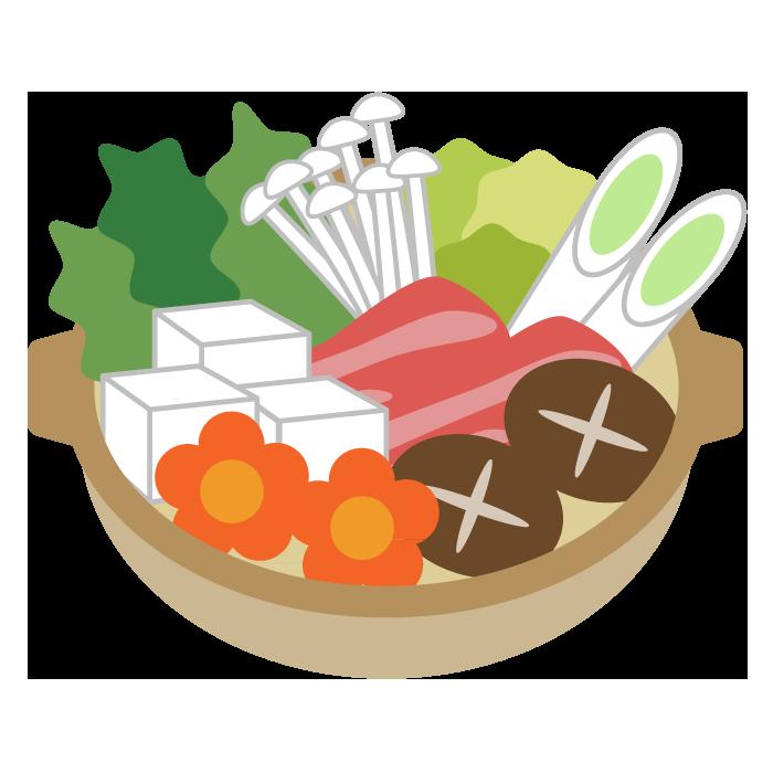 鍋のシンプルイラスト 無料 イラストk