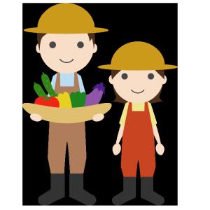 農業のシンプルイラスト
