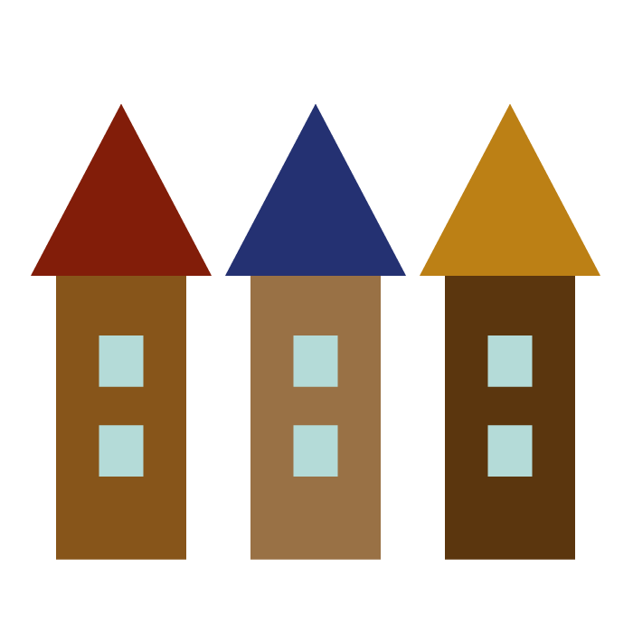 家のシンプルイラスト02 無料 イラストk