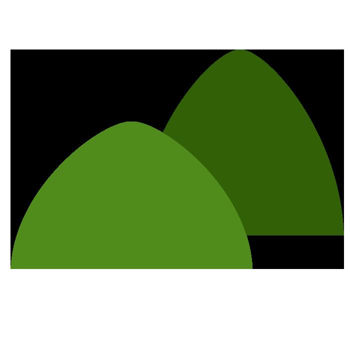 山のシンプルイラスト 無料 イラストk