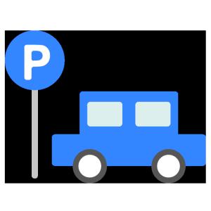 駐車場のシンプルイラスト