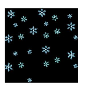 雪の結晶のシンプルイラスト03