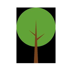 木のシンプルイラスト
