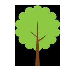 木のシンプルイラスト02